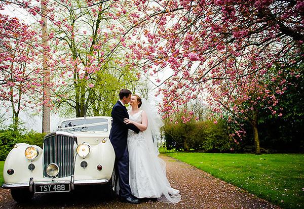 spring wedding mansion