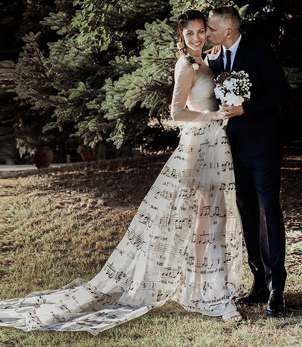 Eros Ramazzotti Marica wedding