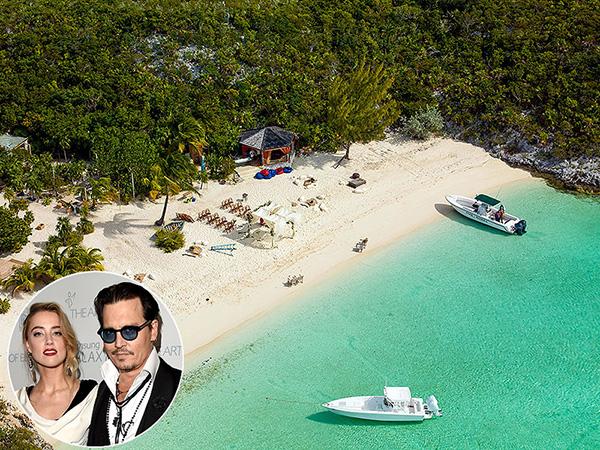 johnny depp bahamas island