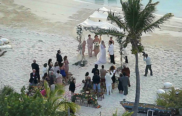 johnny depp amber heard bahamas wedding