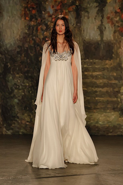 Capes - Jenny Packham 2016 Bridal Collection
