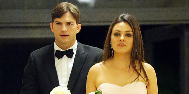 Ashton Kutcher And Mila Kunis Wedding.Mila Kunis Ashton Kutcher Have Secret Wedding Wedding Love
